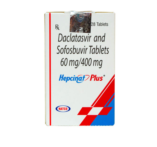 Hepcinat Plus (Софосбувир и Даклатасвир) Natco курс 12 недель